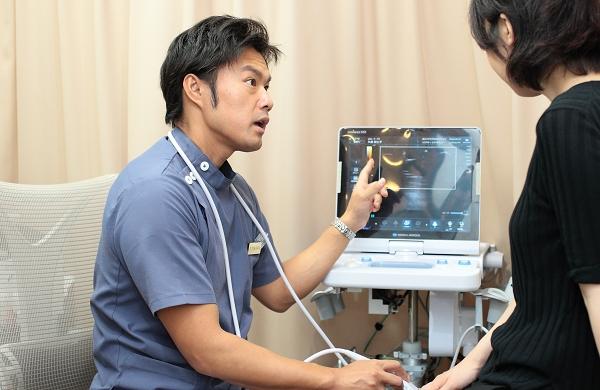 関節超音波