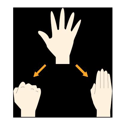 9:手の指の運動