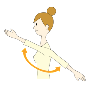 4:腕の上げ下げ