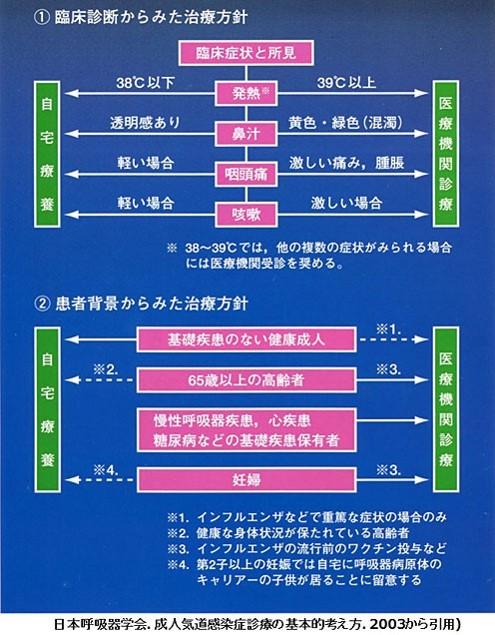 急性上気道炎の治療ガイドライン