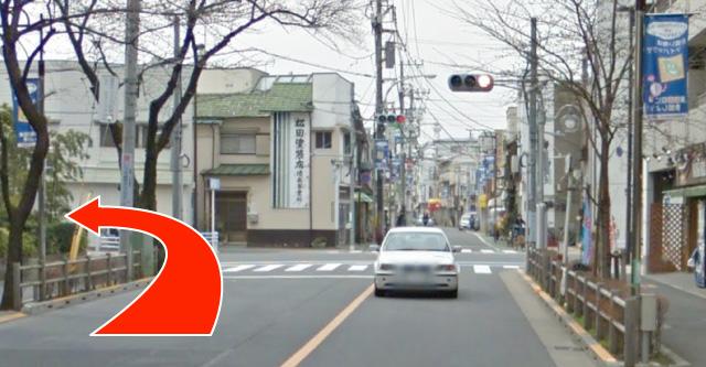 武蔵境駅 南口から湯川リウマチ内科クリニックまで(5)