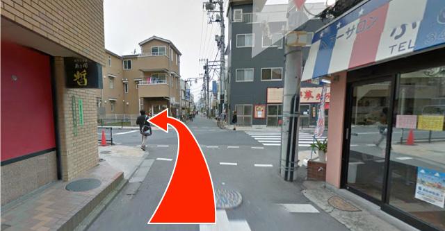 武蔵境駅 nonowa口から湯川リウマチ内科クリニックまで(2)