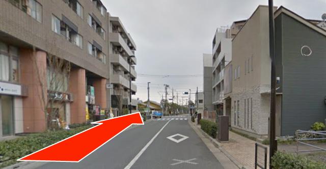 武蔵境駅 nonowa口から湯川リウマチ内科クリニックまで(3)