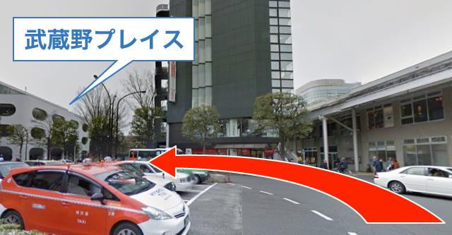 武蔵境駅 南口から湯川リウマチ内科クリニックまで(2)